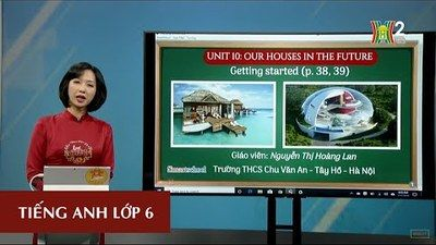 MÔN TIẾNG ANH - LỚP 6 | UNIT 10 - OUR HOUSES IN THE FUTURE - GETTING STARTED | 8H30 NGÀY 04.05.2020